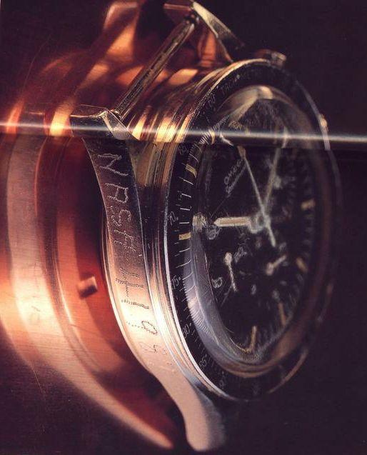 Takhle dopadly hodinky po požáru Apolo 1.