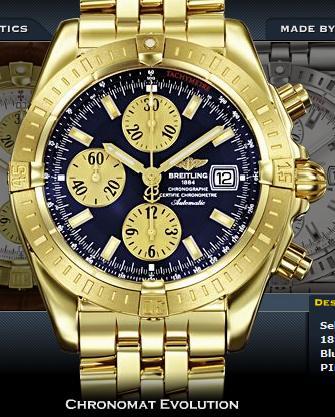 Chronomat ve zlatě