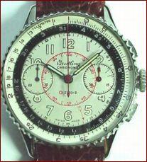 Breitling chronometr - původní verze