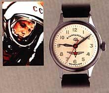 Gagarin a jeho hodinky