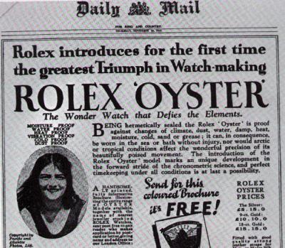 Mercedes Gleitze přeplavala Kanál a na ruce měla Rolexky