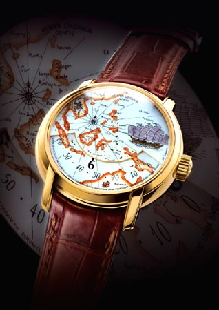 Vacheron Constantin, model Patrimony, Hommage aux Grands Explorateurs
