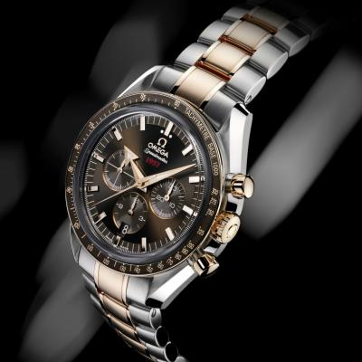 Omega Speedmaster Broad Arrow 1957 au Chocolat