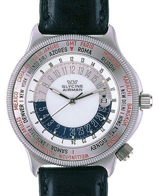 Glycine Airman World Time Watch