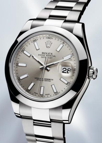 Rolex Datejust II s hladkým prstencem